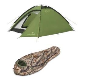 Спальные мешки, палатки